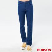 BOBSON 男款中腰輕量貼合直筒褲(1846-53)