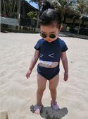 618好康鉅惠韓版可愛卡通三角褲鯊魚沙灘游泳衣童泳裝