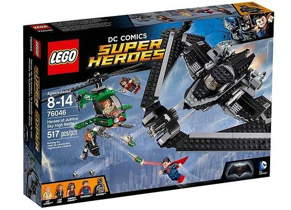 LEGO 樂高 Heroes of Justice: Sky High Battle 正義英雄:高空之戰 76046