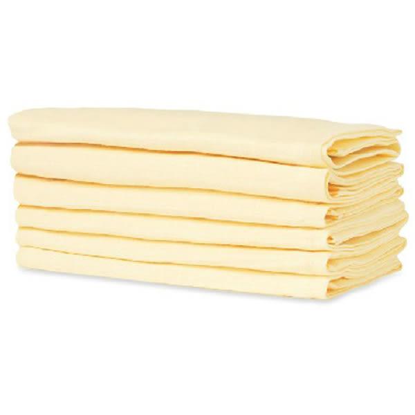 mothercare 黃色紗布巾6入