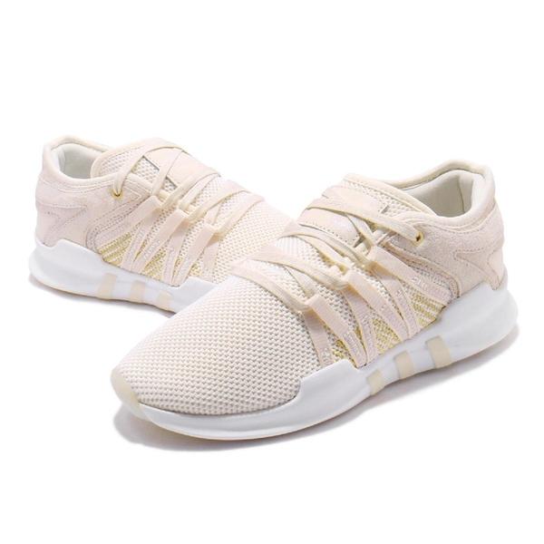 【四折特賣】adidas 休閒慢跑鞋 EQT ADV Racing W 米白 黃 白 女鞋 【PUMP306】 B37090
