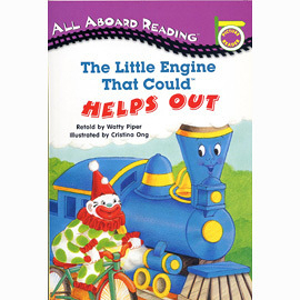 【汪培珽書單】〈All Aboard Reading系列:Picture Reader 〉LITTLE ENGINE THAT COULD HELPS OUT