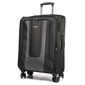 eminent 雅仕 - 簡約撞色布面行李箱20吋黑