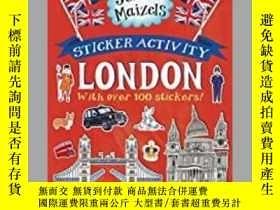 二手書博民逛書店Sticker罕見Activity London-貼紙活動倫敦Y414958 出版2020