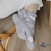 襪子女長襪純棉加絨超厚羊羔絨保暖可愛女襪【邻家小鎮】