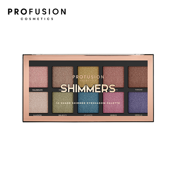 PROFUSION 10色眼影盤-耀眼星光 16g