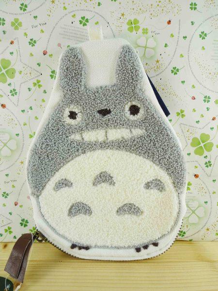【震撼精品百貨】となりのトトロTotoro_化妝包-龍貓灰