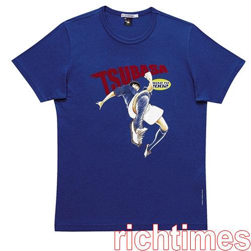 UNIQLO TSUBASA藍色T恤~M,L   UQ3A2317