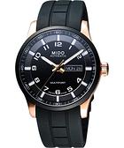 MIDO 美度 Multifort 先鋒系列極速手錶-黑 M0054303705709