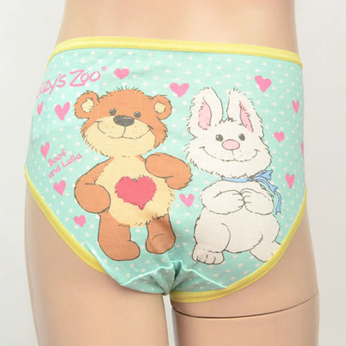 [萬萊批發]   印花棉質小女童中腰三角內褲 腰圍 55~66 cms 可穿