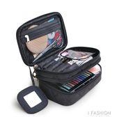 韓國化妝包小號便攜大容量 雙層防水手提收納包旅行洗漱包  Ifashion