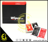 ES數位 美國 EVITEO WIPESSET 二合一 拭紙 乾劑 濕劑 10入 相機 手機 螢幕 鏡頭 LCD液晶 眼鏡 拭鏡紙