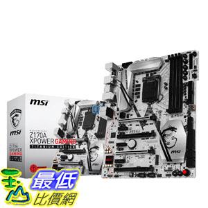 [美國直購] MSI 主機板 Enthuastic Gaming Intel Z170A LGA 1151 DDR4 USB 3.1 ATX Motherboard