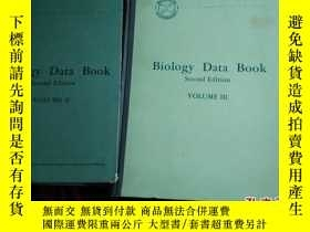 二手書博民逛書店Biology罕見Data Book Second Editio