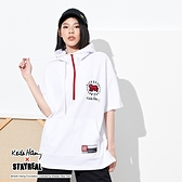 STAYREAL x Keith Haring 發光的嬰兒口袋連帽T