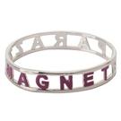 KITSON時尚magnet漸層手環(紫銀色)140310