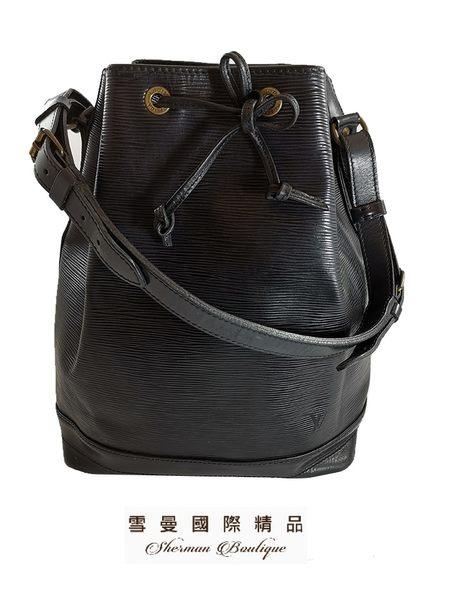 【雪曼國際精品】Louis Vuitton LV M44002 Petit Noé  EPI水波紋皮革-二手8.成新