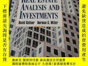 二手書博民逛書店Commercial罕見Real Estate Analysis And Investments房地产分析与投资