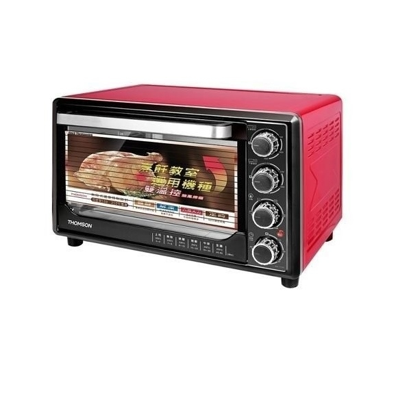 THOMSON湯姆盛 30L三溫控旋風烤箱 SA-T02∥不鏽鋼發熱管∥四旋鈕多段設計
