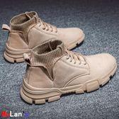襪靴 馬丁靴 高幫鞋 英倫風 中幫 襪子 工裝靴子