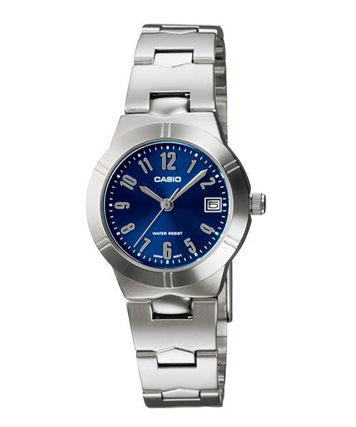 【CASIO宏崑時計】CASIO卡西歐不鏽鋼指針錶 LTP-1241D-2A2 生活防水 33.0mm 台灣卡西歐保固一年