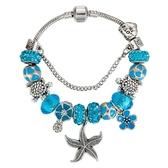 串珠手環-海洋系列水晶飾品海星吊墜女配件73kc81[時尚巴黎]