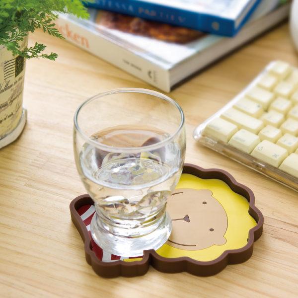 奶油獅小物收納盤~~☆還可當杯墊喔!