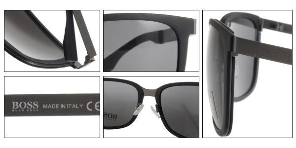 HUGO BOSS 太陽眼鏡 HB0723S KDJY1 (黑) 名品時尚簡約百搭款 # 金橘眼鏡