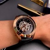 星晴錶業-MASERATI瑪莎拉蒂男錶,編號R8821112001,46mm玫瑰金錶殼,深黑色錶帶款