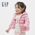 Gap嬰兒 迪士尼印花寬鬆式拉鍊連帽外套 593706-粉色