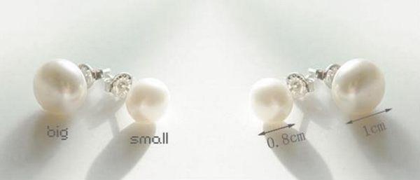 [協貿國際]  韓國飾品簡約百搭小巧珍珠耳釘 (40個價)