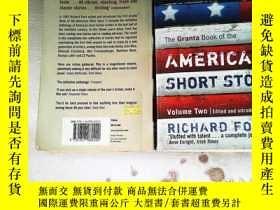 二手書博民逛書店The罕見Granta Book Of The American Short Story: Volume Two