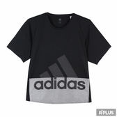 Adidas 女 LOGO TEE 圓領T(短)-CV7805