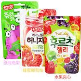韓國 Jellico 水果夾心軟糖/恐龍造型軟糖/蜂蜜葡萄柚軟糖 50g【新高橋藥妝】3款可選