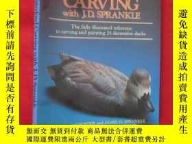 二手書博民逛書店Waterfowl罕見Carving with J. D. Sp