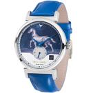梵谷Van Gogh Swiss Watch小秒盤梵谷經典名畫男錶 C-SLMH-24 馬