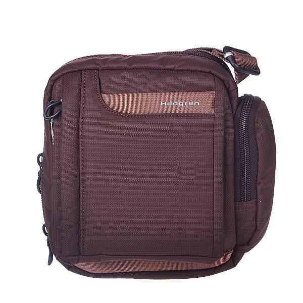 HEDGREN 菁英雅痞系列小型手機側背包(咖啡色) HUP85STWCF