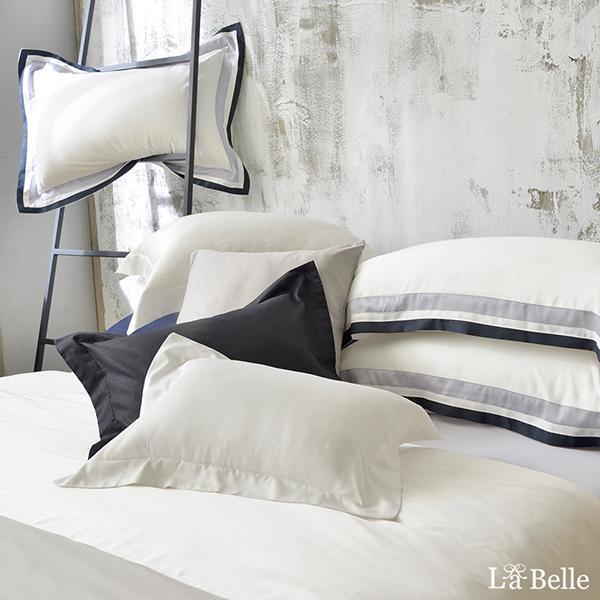 義大利La Belle《法式典藏》雙人天絲拼接防蹣抗菌吸濕排汗兩用被床包組