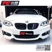 BMW F22 F23 F87 M2 水箱罩 鼻頭 單槓亮黑3色 2系列 現貨供應 TRANCO 川閣