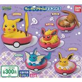 全套5款【日本正版】精靈寶可夢 茶杯造型 吊飾 P5 扭蛋 轉蛋 第5彈 神奇寶貝 BANDAI 萬代 - 293354