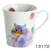 【日本製】水彩貓咪系列 美濃燒馬克杯 藍色 SD-6796 - 日本製 美濃燒 水彩貓咪系列