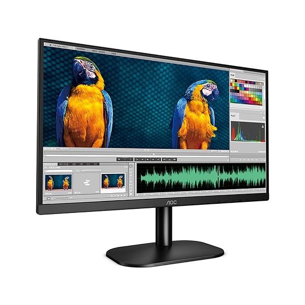 AOC 24型 24B2XH 液晶電腦螢幕顯示器(內附 HDMI 線)