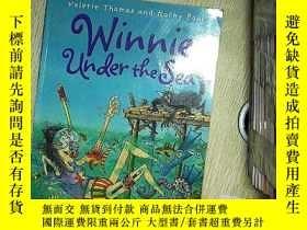 二手書博民逛書店WINNIE罕見UNDER THE SEA 溫妮在海底Y203004