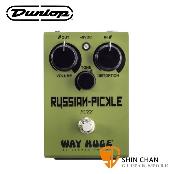 Dunlop WHE408 破音效果器【Russian Pickle/Fuzz/Way Huge/WHE-408】