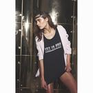OneTeaspoon T恤 SEX IS FUN TEE-女(黑)