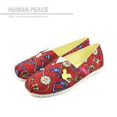 Disney 迪士尼 米奇 懶人鞋 紅色 女鞋 no024