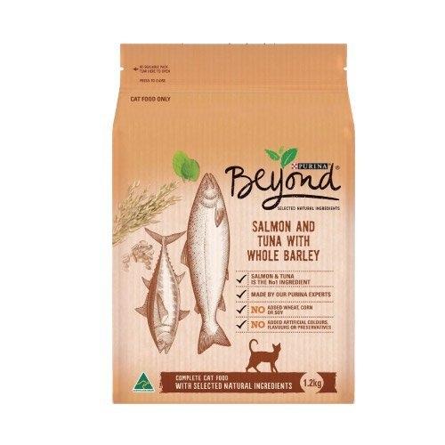 *KING*【送佩奇寵物按摩梳】Beyond嚴選《挑嘴貓低敏 鮮雞/雙魚》嚴選 9種主原料 天然犬糧 1.2kg/包