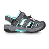 LOTTO 女排水護趾涼鞋(休閒 海邊 戲水 水陸鞋≡體院≡ LT0AWS169