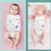 新生嬰兒包被防驚跳繈褓睡袋包巾護肚圍神器紗布夏季薄款初生寶寶 CIYO黛雅