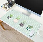滑鼠墊 發熱暖桌墊辦公取暖桌面電熱毯加熱電腦暖手鼠標寫字臺板寶超大『鹿角巷』